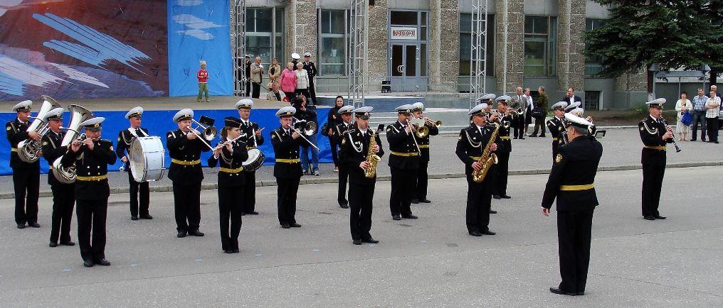 Выступление на День Военно-Морского флота