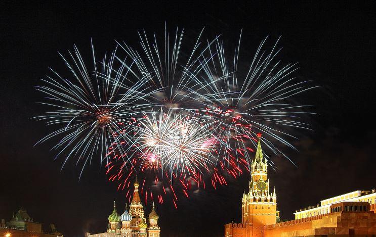 Салют 9 мая в Москве