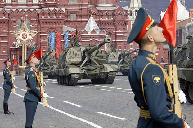 Военный парад 9 мая 2008 года