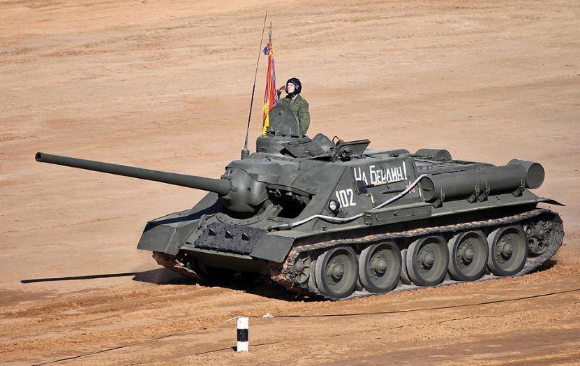 Советская противотанковая самоходная артиллерийская установка СУ-100
