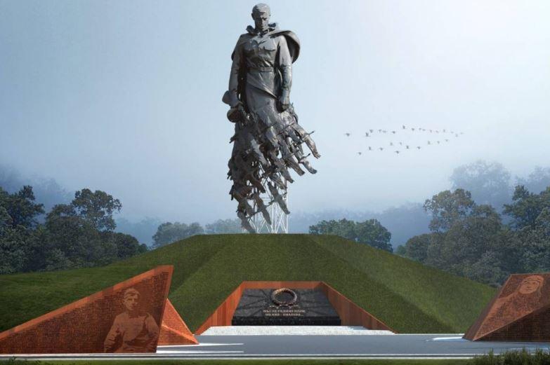 Ржевский мемориал Советскому солдату - крупнейший памятник в истории современной России
